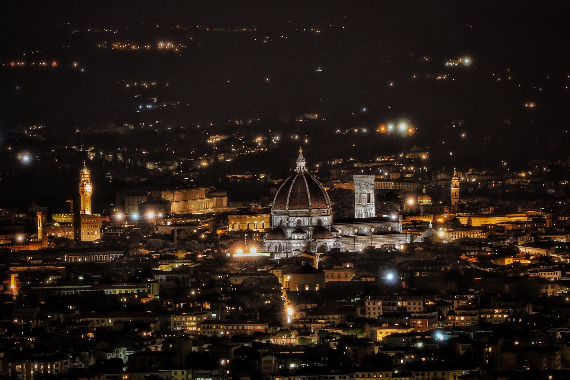Florencie v noci