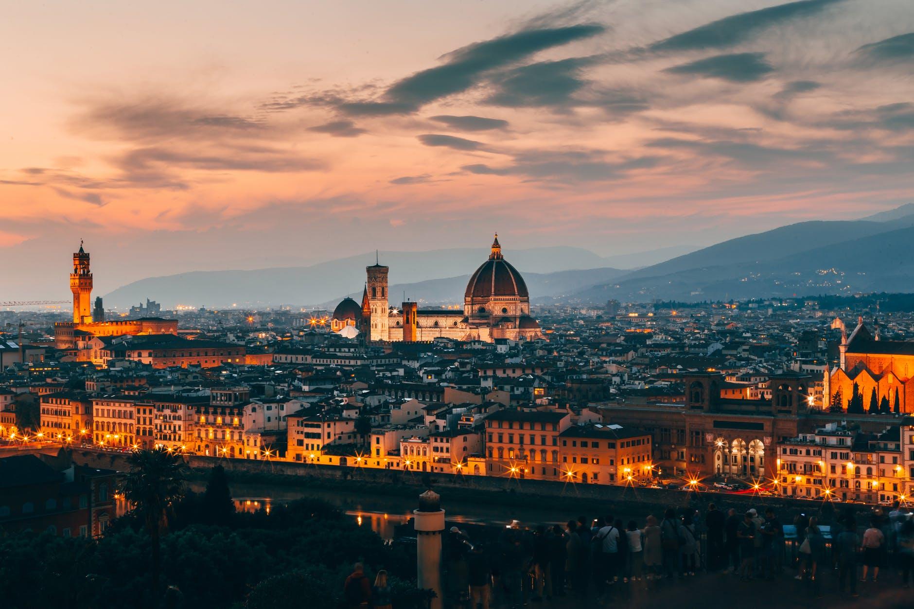 panorama Florenci